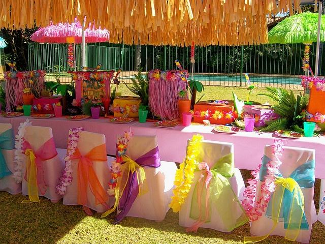 Украшения для гавайской вечеринки своими рук